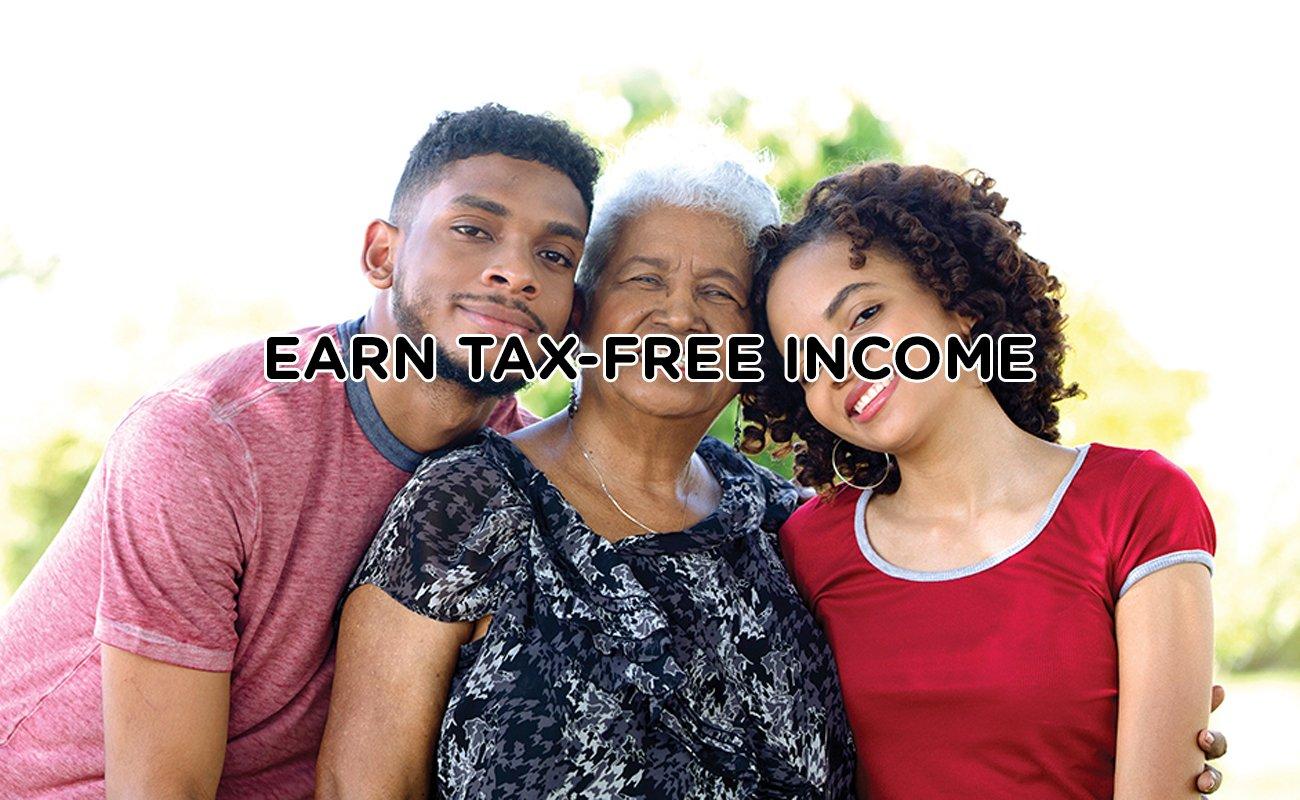 EARN TAX-FREE INCOME