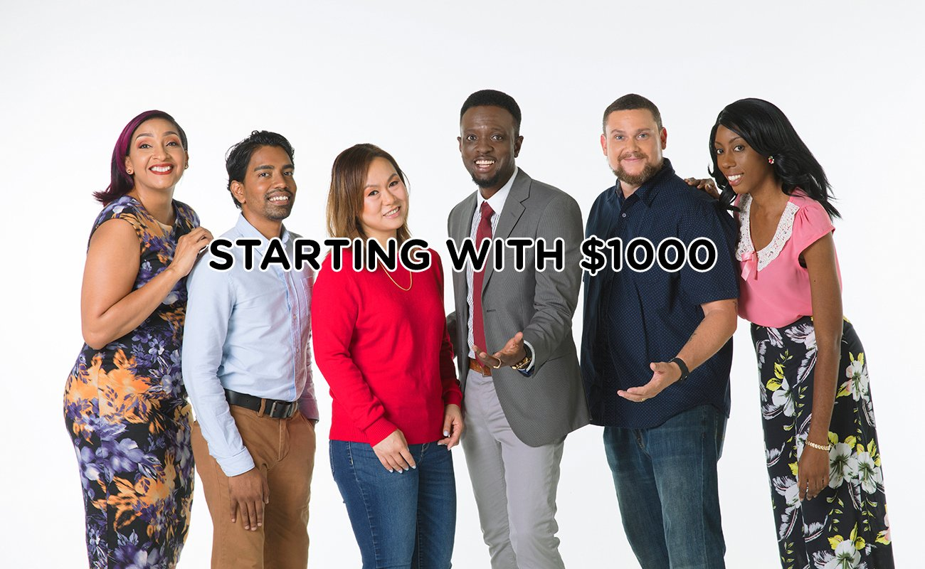 STARTING WITH $1000